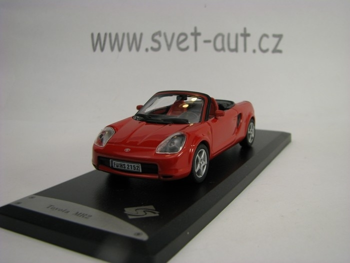 Toyota MR2 2000 Red 1:43 Solido